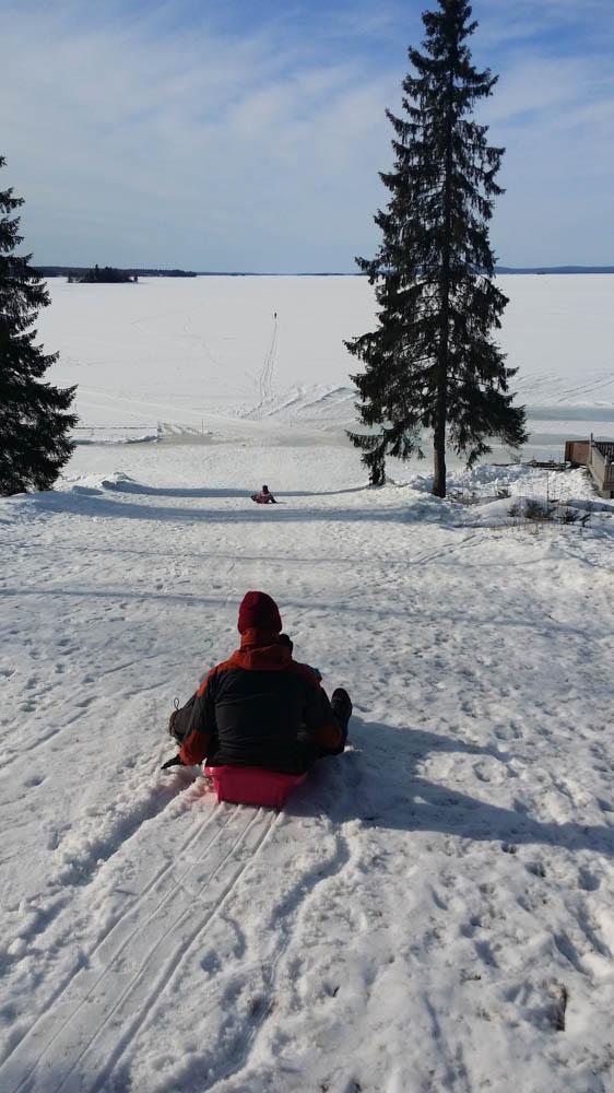 Vuokatti Lähimatkailija pulkkamäki Nuasjärvi Vuokatinmaan loma-asunnot